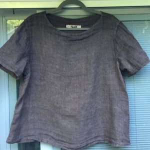 FLAX blouse